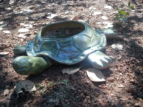 Giant Outdoor Tortoise Planter